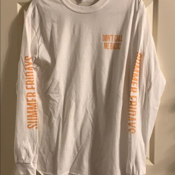 382872044a3 Summer Fridays Marianna Hewitt Overtime Mask Shirt.  M 5c47754cdf030795e35586d9